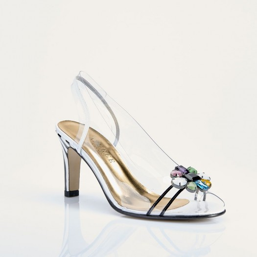 NYLON - Azurée - Women's shoes made in France
