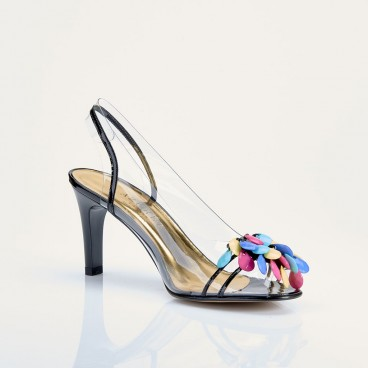SANDALE NUAGO pour femme - Azurée - Made in France