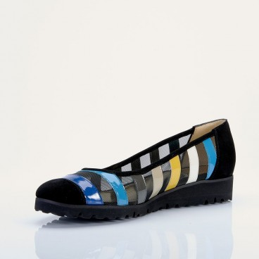 BALTO - Azurée - Women's shoes made in France