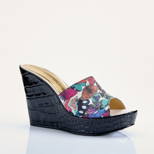 MULE FIFTY pour femme - Azurée - Made in France