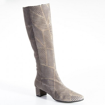 BOTTE BODILE pour femme - Azurée - Made in France