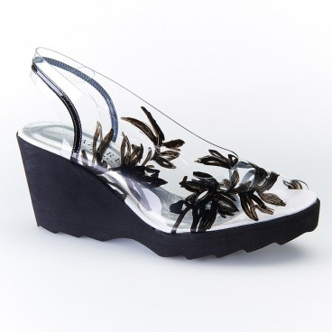 DATURA - Azurée - Women's shoes made in France