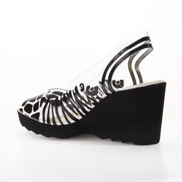SANDALE DORA - Azurée - Women's shoes made in France