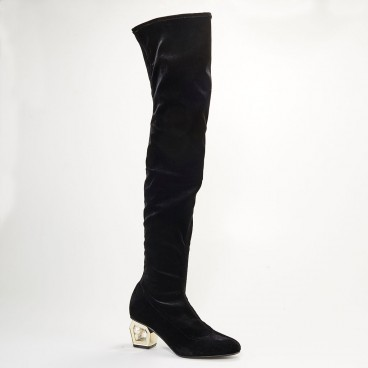 BONITA - Azurée - Women's shoes made in France