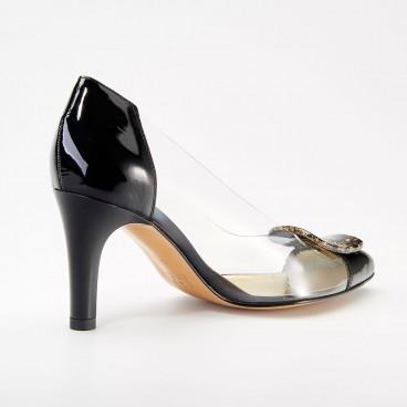 ESCARPIN LIMOGE pour femme - Azurée - Made in France