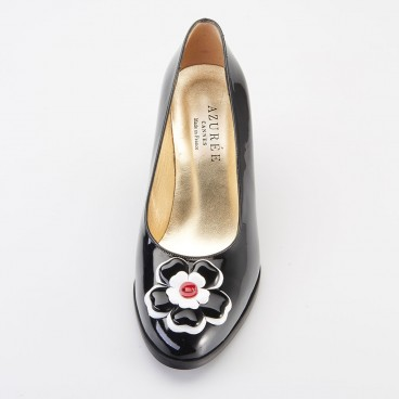 OPTIMA - Azurée - Women's shoes made in France