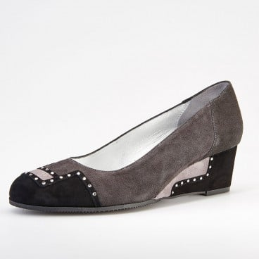 OUVRI - Azurée - Women's shoes made in France