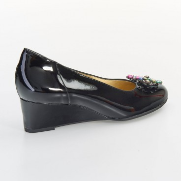 OLINO - Azurée - Women's shoes made in France