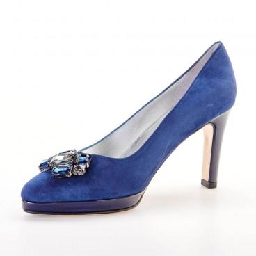 OTIQUA - Azurée - Women's shoes made in France