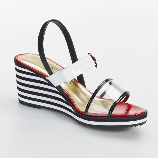 SANDALE CAVA pour femme - Azurée - Made in France