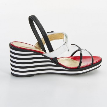 CAVA - Azurée - Women's shoes made in France