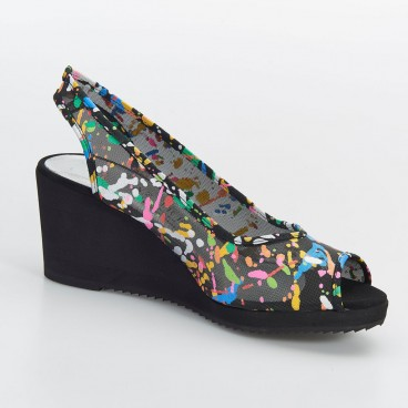 JONC - Azurée - Women's shoes made in France