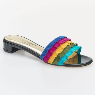 POLKS - Azurée - Women's shoes made in France
