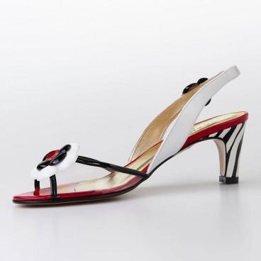 SANDALE NOTERA pour femme - Azurée - Made in France