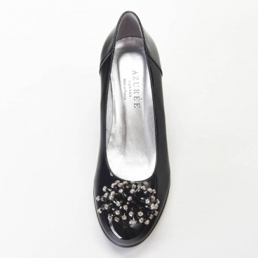 OMBRO - Azurée - Women's shoes made in France
