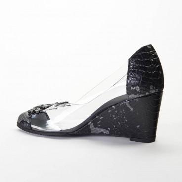LENDI - Azurée - Women's shoes made in France