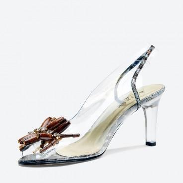 SANDALE NODITO pour femme - Azurée - Made in France