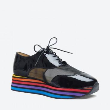JALON - Azurée - Women's shoes made in France