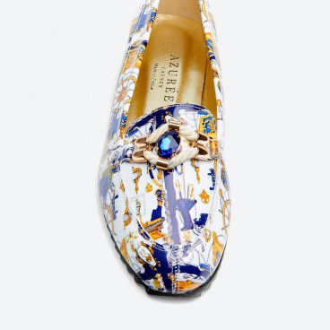 CAPA - Azurée - Women's shoes made in France