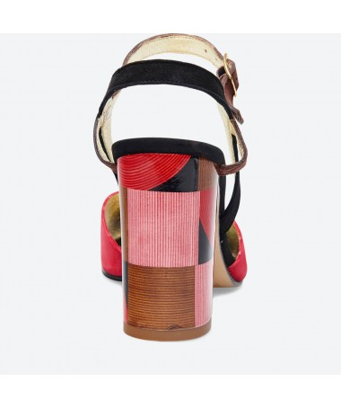 SANDALE MADRA pour femme - Azurée - Made in France