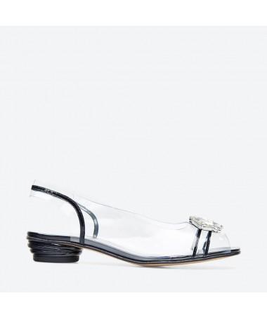 SANDALE NULACO pour femme - Azurée - Made in France