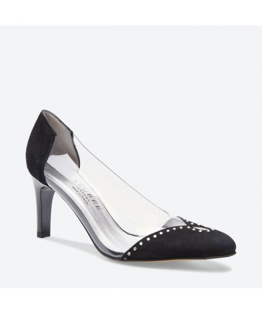 LAMETO - Azurée - Women's shoes made in France