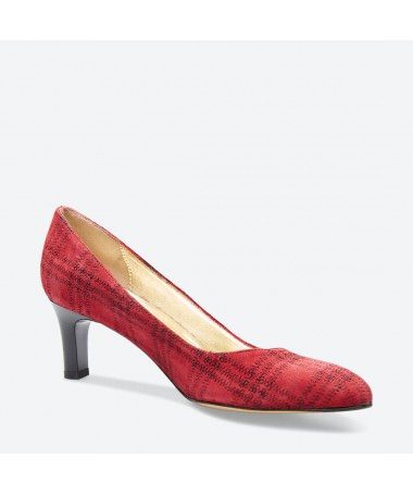 ESCARPIN  RORON pour femme - Azurée - Made in France