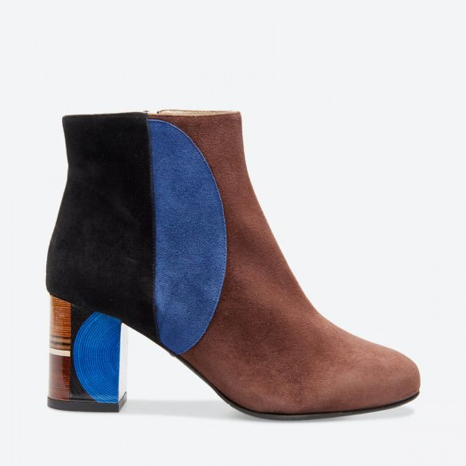 TAGADA - Azurée - Women's shoes made in France