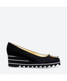VAGUE - Azurée - Women's shoes made in France