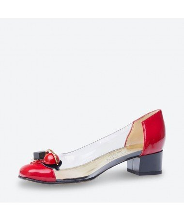 LEMPO - Azurée - Women's shoes made in France