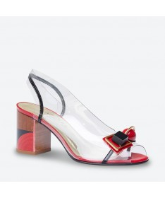 SANDALE MADERE pour femme - Azurée - Made in France