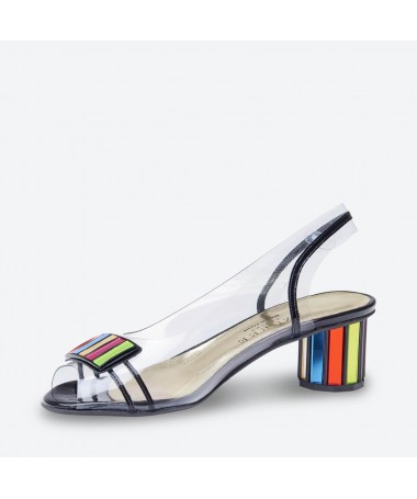 MALIN - Azurée - Women's shoes made in France