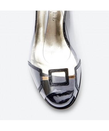 SANDALE MARACA pour femme - Azurée - Made in France