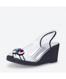 SANDALE VENUS pour femme - Azurée - Made in France