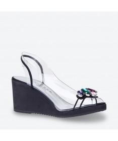 VENUS - Azurée - Women's shoes made in France