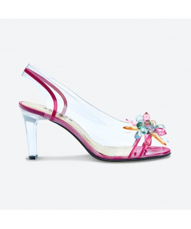SANDALE MACADA pour femme - Azurée - Made in France
