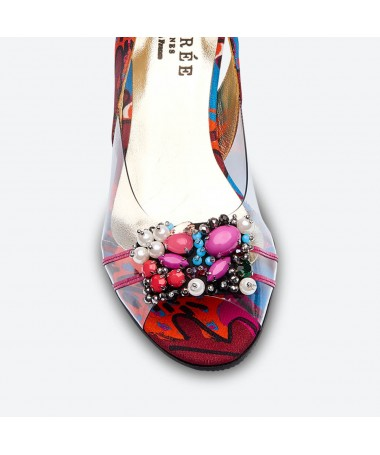 MABEL - Azurée - Women's shoes made in France