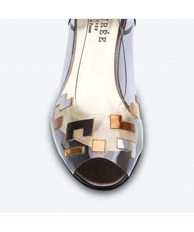 SANDALE MOLINDA pour femme - Azurée - Made in France