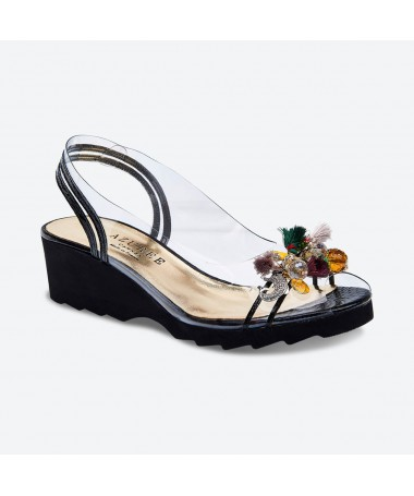 NARY - Azurée - Women's shoes made in France