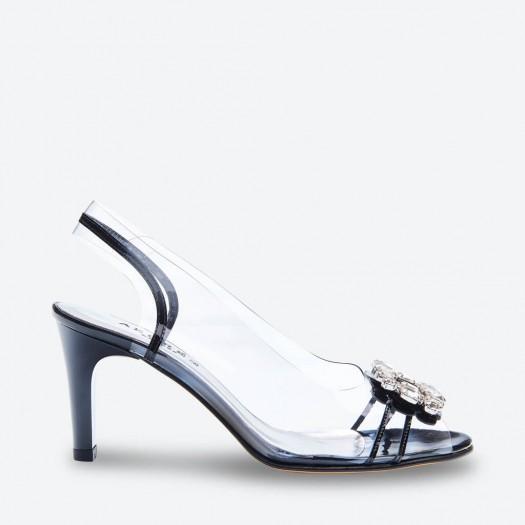 SANDALE MALAGA pour femme - Azurée - Made in France