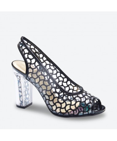 MANU - Azurée - Women's shoes made in France