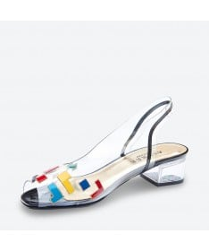MOLINDA - Azurée - Women's shoes made in France