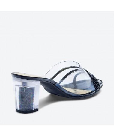 MULE MASSA pour femme - Azurée - Made in France