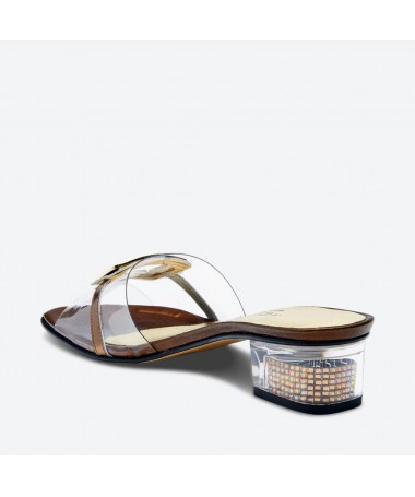 MARLOU - Azurée - Women's shoes made in France