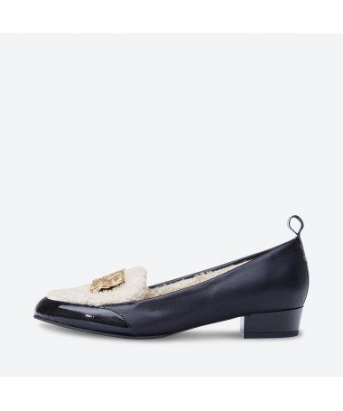 BAMBA - Azurée - Women's shoes made in France