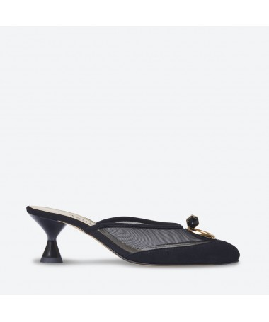 MULE KEIKO pour femme - Azurée - Made in France