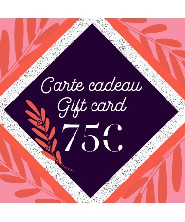 Gift card 75 - 1
