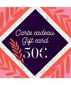 Gift card 50 - 1