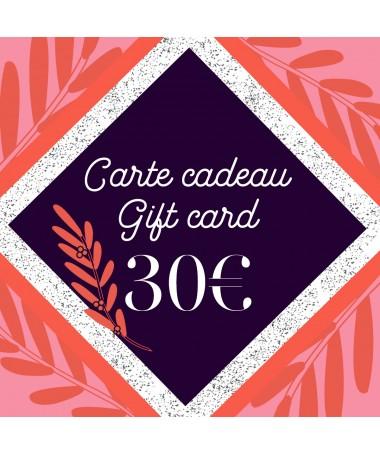 Carte cadeau 30 - 1