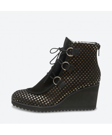 VEROU - Azurée - Women's shoes made in France